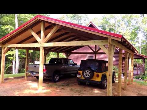 Carport Pole Barn Build