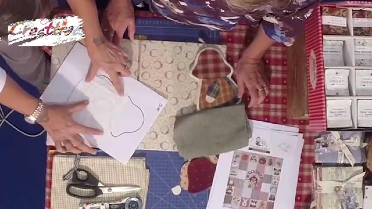 Copriforno di stoffa con la gallina cuoca u hobbyvary