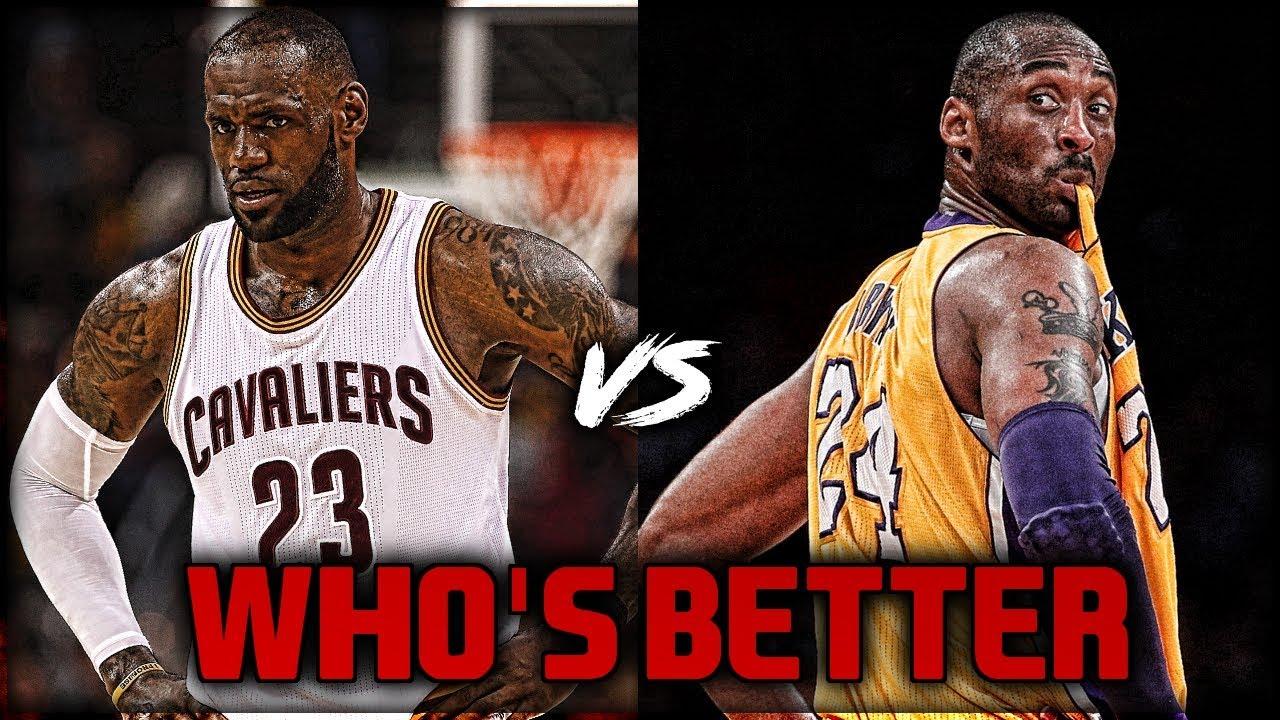 60df370c91f2 Kobe Bryant vs LeBron James - WHO IS BETTER ! - YouTube