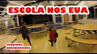 Como é escola nos Estados Unidos? O Nicholas e a Rebecca mostram...