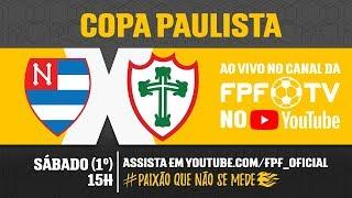 Nacional 0 x 2 Portuguesa - Copa Paulista 2018