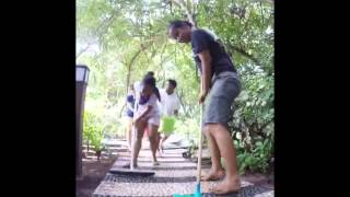 JA Manafaru-Staff-Path Way Fun Cleaning