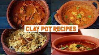 Clay Pot Recipes | Clay Pot Cooking | Compilation