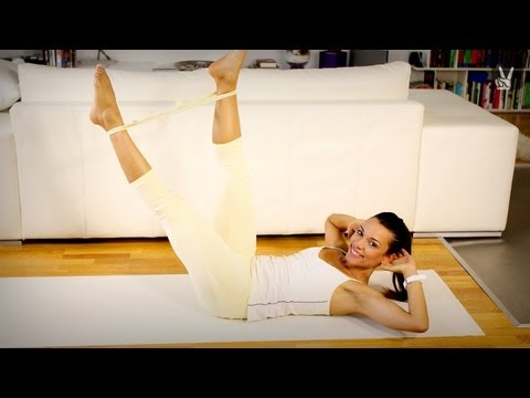 Pilates Equipment  Fortgeschrittene: Mach' Dich fit mit dem Theraband!