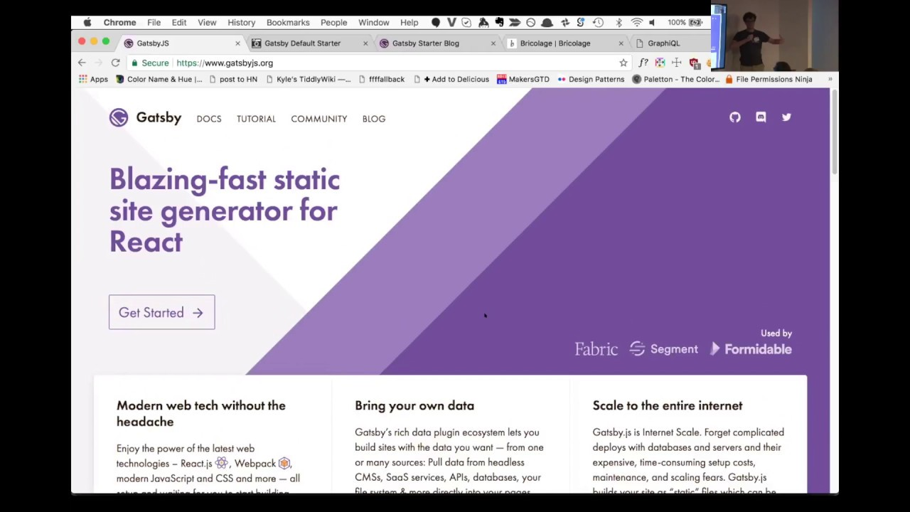 Using GraphQL in a Static Site Generator - Kyle Mathews ...