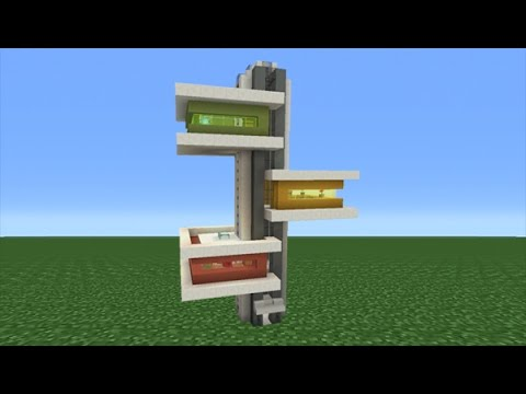 Minecraft Tutorial: How To Make A Modern Tower House
