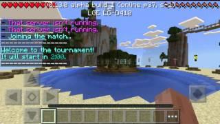 MINECRAFT PE 0.13.0 NOVO SERVIDOR DE Survival Games ( SERVIDORES DE MINECRAFT PE 0.13.0 )