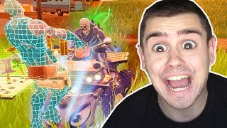 NOOB fährt QUAD-RAMME in Fortnite ..