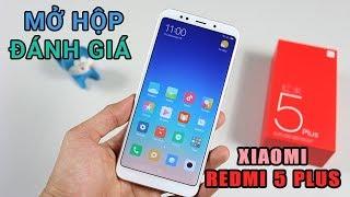 Mở hộp Xiaomi Redmi 5 Plus: To hơn, nhiều kim loại hơn,  chip Snapdragon 625, ram 4gb, giá vẫn rẻ