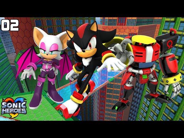 Sonic Heroes (GC) [4K] - Team Dark (2/7)