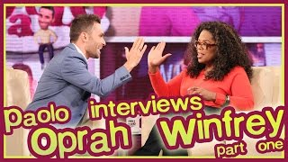 Part 1: Oprah's Last Interview from Oprah Show Stage!