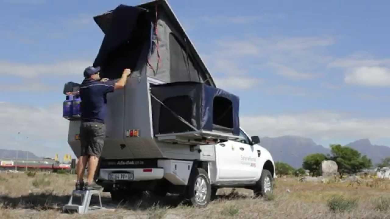 Alu Cab Dcab Four Sleeper Camper Introduction Youtube
