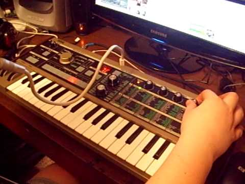 How to make a Vocoder for Microkorg sound like a Talkbox