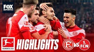 Fortuna Dusseldorf 2-1 Nurnberg | HIGHLIGHTS | Jornada 25 | Bundesliga