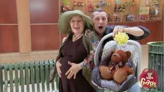 Repeat youtube video Pregnant Granny Prank