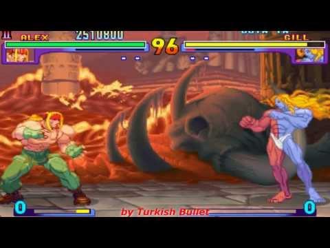 Street Fighter III: New Generation (Arcade) - (Alex   Hard Difficulty)