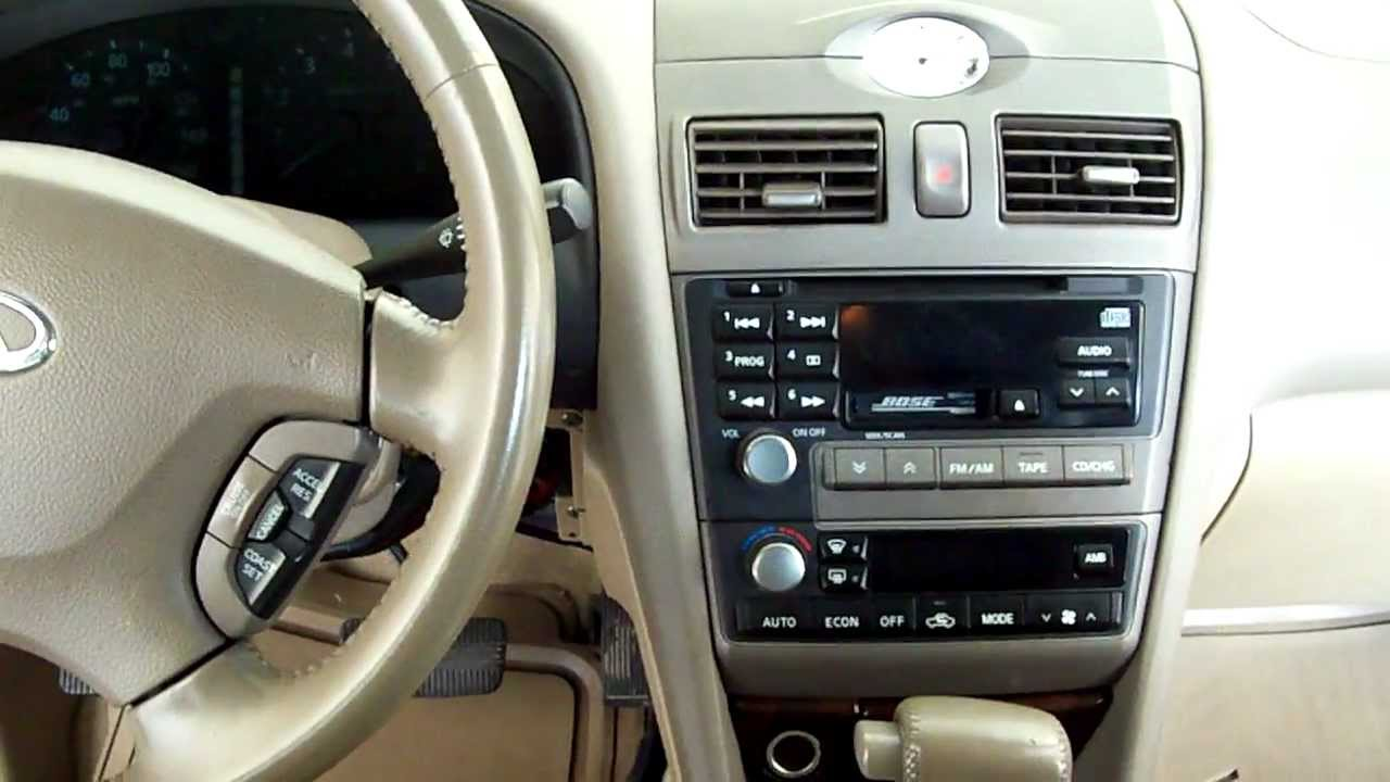 2000 Nissan Maxima Ac Diagram Wiring And Ebooks 2001 Ecm Wire Infiniti I30 Location Part 1 Youtube Bose Subwoofer