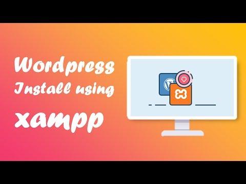 WordPress install using xampp thumbnail