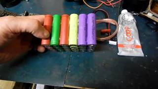 24v 10ah to 15ah lithium ion pack for ebike part 1