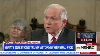 Jeff Sessions angrily defends his immigration record from Dick Durbin