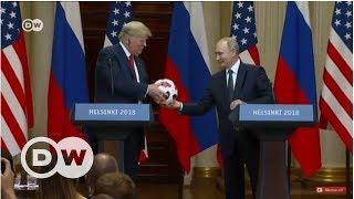 Trump ve Putin'in Helsinki buluşması - DW Türkçe