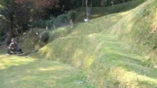 2009.11.8 伊豆マウンテンドッグランにて 山の形状をいかしたドッグラン...