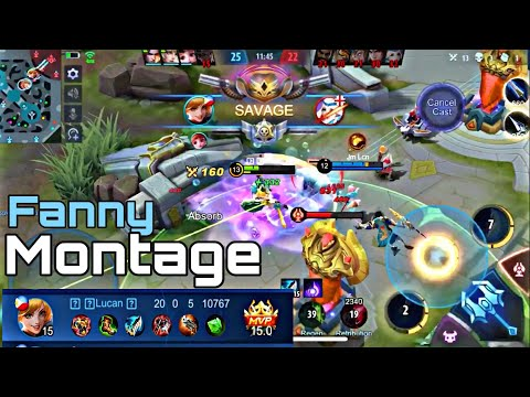 First Video | Fanny Montage || MLBB (Read the Description)