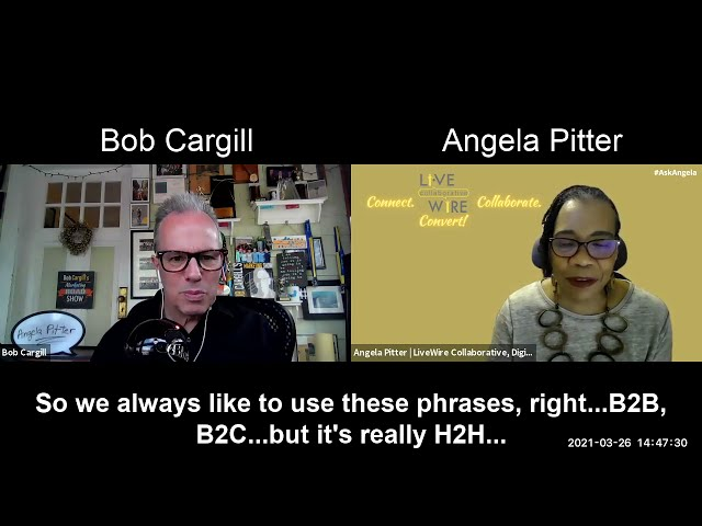 A Few Words with Angela Pitter about