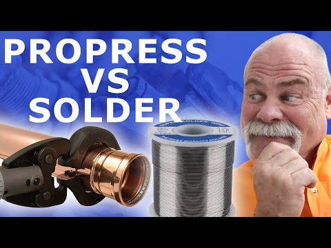 Is ProPress Better Than Solder Plumbing Fittings??