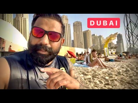 The Craziest Bikini Beach of Dubai 2021 🔥🔥