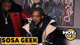 Sosa Geek On Fivio Foreign's 'Big Drip', Being Followed By Drake & Origins Of 'Wooo Walk'