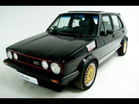 vw golf 1 gti 1983 acceleration sound youtube. Black Bedroom Furniture Sets. Home Design Ideas