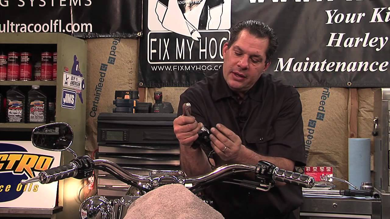 Harley Davidson Maintenance Touring Motorcycles Brake