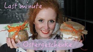 DIY #Last minute Ostergeschenke