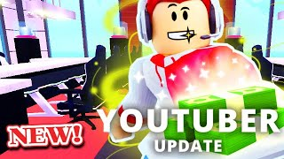 YOUTUBER UPDATE & Play BUTTONS (Best Update Yet) | Roblox MY RESTAURANT!
