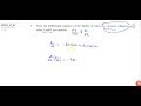 JEE MAINS 2018 Form the differential equation   of the family of curves `y=Acos2x+Bsin2x ,\ ` w...