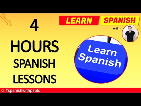 How to say things in Spanish part 1 to 9 👍😊  Spanish tutorials compilation 4 hours plus