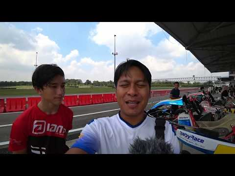 Any revenue i get from this video i will give to adik amer. Future F1 driver | EvoMalaysia.com