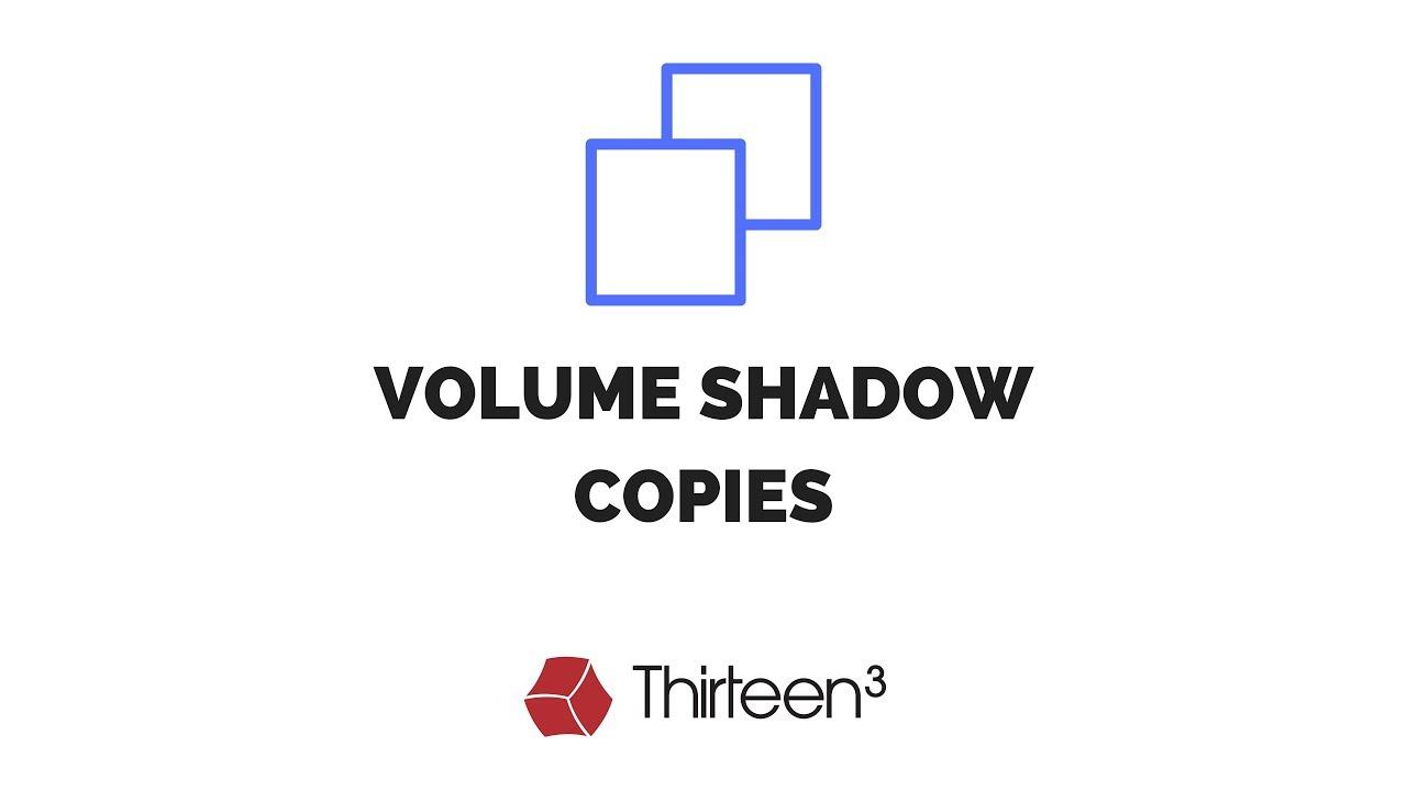 Acessando Volume Shadow Copies em um Sistema Windows – TI