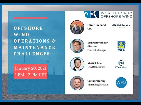 Offshore Wind Operations & Maintenance Challenges