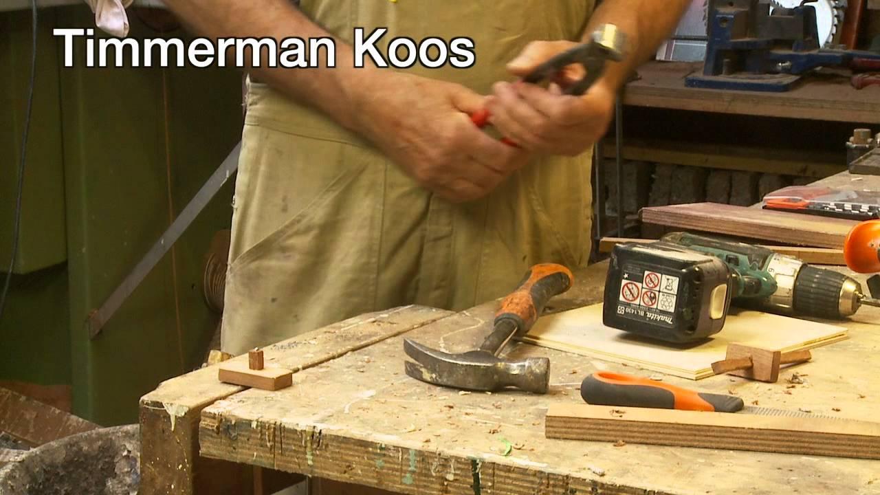 Fabulous Timmertip 422 Zelf een kruishout maken. Klein maar fijn. - YouTube @LN52