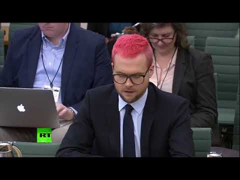 Cambridge Analytica whistleblower Christopher Wylie gives evidence to MPs