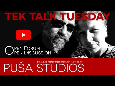 Puša Live Stream #011:  Tek Talk Tuesday and a Special guest Sean from PuppetgutTv... Well, kind of