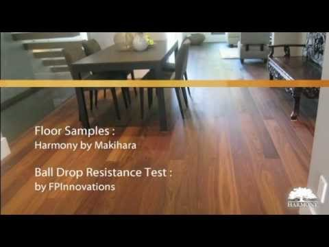 Dent Resistance Test Hardwood Floors Youtube