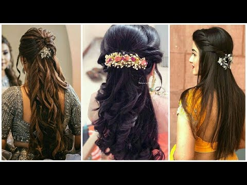 Top 30 Indian Wedding Hairstyles From Short To Long Hairs l hairstyle