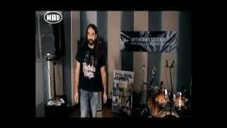 Megadeth, Lamb of God & live session από τους Cemetery Dance  (TV War 20/7/15)