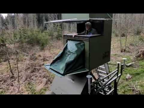 MobiJagd - Die Pickup Kanzel: Im Waldrevier