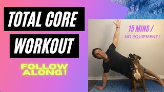 HOME CORE WORKOUT** 10 Exercises** No EQUIPMENT