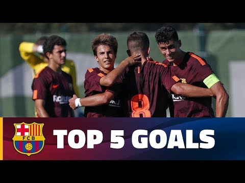 FCB Masia-Academy: Top goals 30 September - 1 October