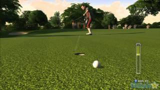 Tiger Woods PGA Tour 12 - Road to the Masters Walkthrough - Nationwide Tour - Round 1 - Part 1